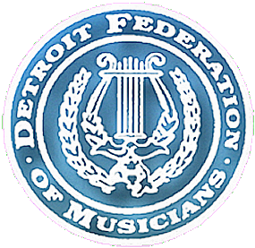 Detroit Federation of Musicians AFM Local 5 Logo.png